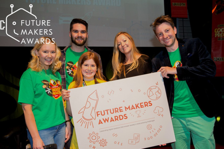 Young people use technology to tackle societal issues