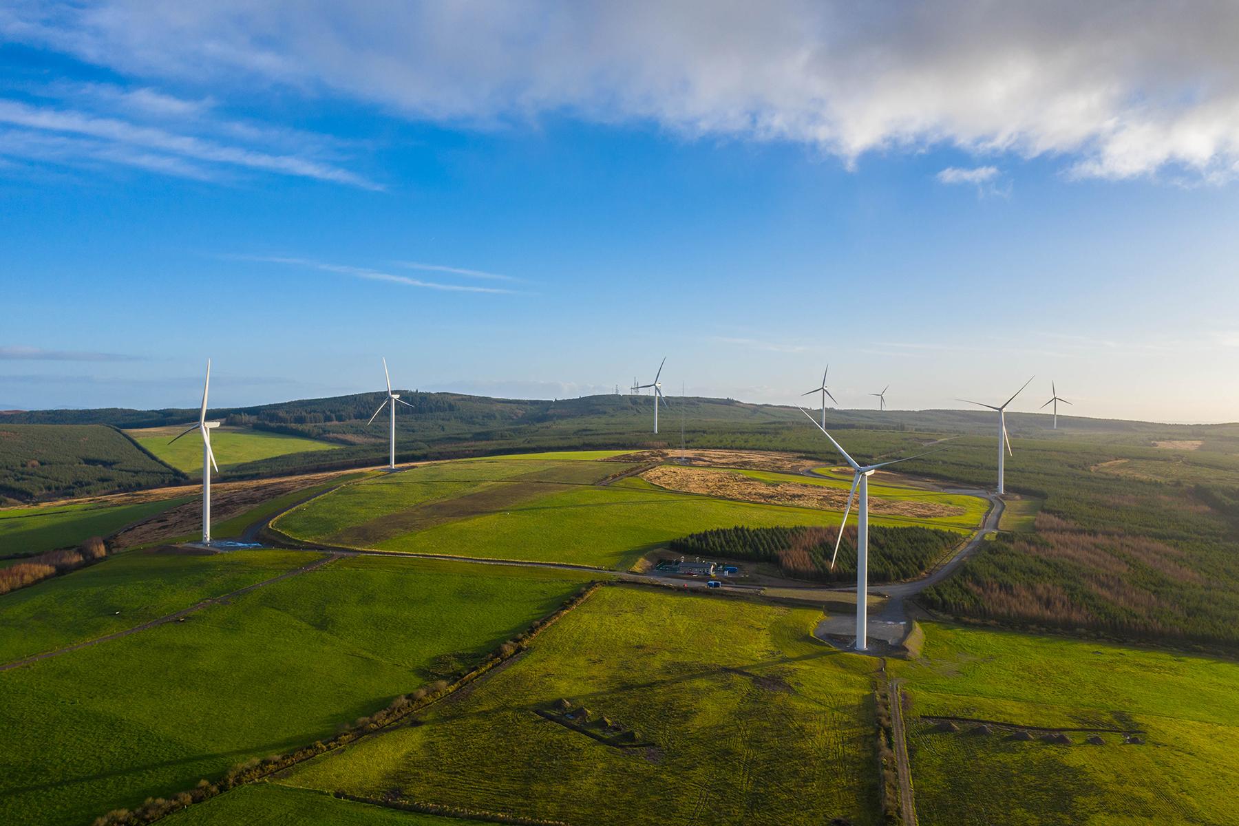 Net zero by 2040 – come wind or shine